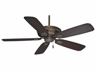 Casablanca 59527 Heritage Aged Bronze Finish Home Ceiling Fan - 60  Wide