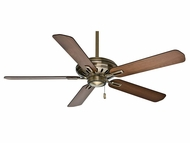 Casablanca 59535 Holliston� Antique Brass Finish Home Ceiling Fan - 60  Wide
