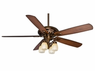 Casablanca 59536 Holliston� Gallery Bronze Patina Finish 60  Wide Ceiling Fan