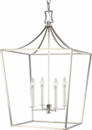 Chapman & Meyers CC1014PN Southold Polished Nickel 18 Entryway Light Fixture