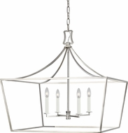 Chapman & Meyers CC1044PN Southold Polished Nickel 28 Entryway Light Fixture
