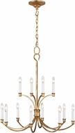 C&M by Chapman & Myers CC10612ADB Westerly Antique Gild Hanging Chandelier