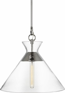 Chapman & Meyers CP1031PN Atlantic Contemporary Polished Nickel Hanging Pendant Light