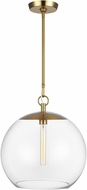 C&M by Chapman & Myers CP1041BBS Atlantic Contemporary Burnished Brass Hanging Pendant Lighting