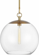 Chapman & Meyers CP1041BBS Atlantic Modern Burnished Brass Pendant Hanging Light