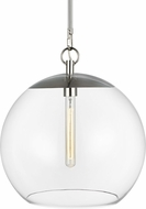 Chapman & Meyers CP1041PN Atlantic Contemporary Polished Nickel Hanging Light Fixture