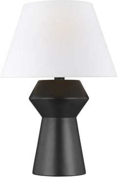 Chapman & Meyers CT1061COLAI1 Abaco Contemporary Coal / Aged Iron Table Lamp Lighting