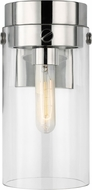 C&M by Chapman & Myers CW1001PN Garrett Contemporary Polished Nickel Wall Lamp