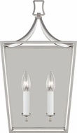 Chapman & Meyers CW1012PN Southold Polished Nickel Sconce Lighting