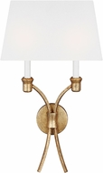 Chapman & Meyers CW1032ADB Westerly Antique Gild Wall Light Sconce