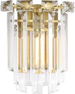 Chapman & Meyers CW1061BBS Arden Contemporary Burnished Brass Lighting Sconce