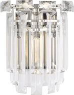Chapman & Meyers CW1061PN Arden Contemporary Polished Nickel Lamp Sconce