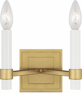 Chapman & Meyers CW1222BBS Marston Burnished Brass Candle Wall Sconce