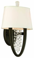 Corbett 13012 Viceroy Crystal Wall Sconce in Royal Bronze