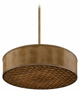 Corbett 135-410 Mambo Extra Large Bronze Drum Pendant Light