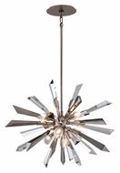 Corbett 140-46 Inertia Silver Leaf Shard 18 Inch Tall Drop Lighting