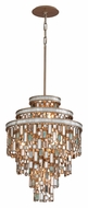 Corbett 142-47 Dolcetti Medium 18 Inch Diameter Silver Finish Pendant Lighting Fixture