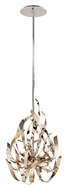 Corbett 154-43 Graffiti Modern 22 Inch Tall Silver Finish Hanging Light Fixture