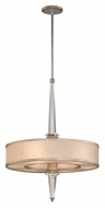 Corbett 166-46 Harlow 35 Inch Tall Medium Silver Transitional Hanging Light Fixture