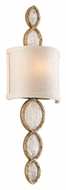 Corbett 167-11 Fame & Fortune Small Brazilian Rock Crystal 20 Inch Tall Lighting Sconce