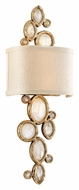 Corbett 167-12 Fame & Fortune Large 23 Inch Tall 2 Lamp Brazilian Rock Crystal Lamp Sconce