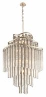 Corbett 176-718 Chimera Large 18 Lamp Tranquility Silver Leaf Pendant Light Fixture