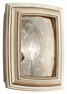 Corbett 179-11 After Midnight 10 Inch Tall Contemporary Tranquility Silver Leaf Wall Light