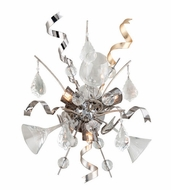 Corbett 189-13 Party All Night Contemporary Modern Silver Finish 19 Tall Lamp Sconce