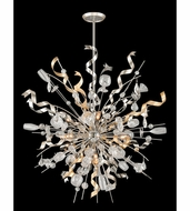 Corbett 189-412 Party All Night Contemporary Modern Silver Finish 52  Tall Pendant Light