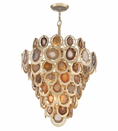 Corbett 190-416 Rock Star Contemporary Gold Leaf Finish 47.25  Tall Pendant Light Fixture