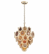 Corbett 190-46 Rock Star Modern Gold Leaf Finish 19.25  Wide Pendant Lighting Fixture