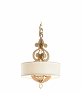 Corbett 201-44 Olivia Contemporary Drop Ceiling Light Fixture