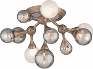 Corbett 206-311 Element Contemporary Vienna Bronze Halogen Ceiling Lighting