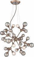 Corbett 206-432 Element Contemporary Vienna Bronze Halogen Medium Pendant Lighting Fixture