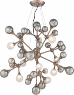 Corbett 206-440 Element Modern Vienna Bronze Halogen Large Hanging Pendant Lighting