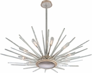 Corbett 209-412 Chill Modern Silver Leaf Halogen Large Lighting Pendant