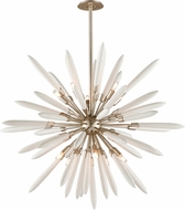 Corbett 217-710 Altitude Modern Modern Silver Leaf 54  Drop Lighting