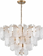 Corbett 244-412 Piemonte Contemporary Royal Gold Hanging Pendant Lighting