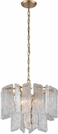 Corbett 244-44 Piemonte Modern Royal Gold Hanging Pendant Light