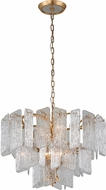 Corbett 244-48 Piemonte Contemporary Royal Gold Pendant Hanging Light