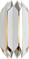 Corbett 254-11 Haiku Contemporary White Wall Sconce