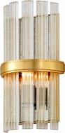 Corbett 257-11 Symphony Modern Gold Leaf Wall Sconce Lighting