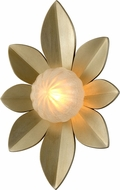 Corbett 261-11 Gigi Modern Silver Leaf LED Wall Lighting Fixture