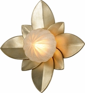 Corbett 261-13 Gigi Modern Silver Leaf LED Wall Sconce Light