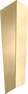 Corbett 265-12 Vega Contemporary Gold Leaf LED 26  Light Sconce