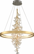 Corbett 268-72 Jasmine Modern Gold Leaf LED 36  Pendant Light
