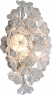 Corbett 269-11 Jasmine Contemporary Silver Leaf LED Wall Sconce Lighting