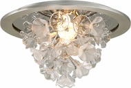 Corbett 269-31 Jasmine Modern Silver Leaf LED Home Ceiling Lighting