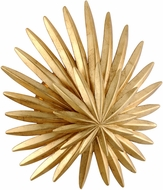 Corbett 309-11 Savvy Modern Vintage Gold Leaf Wall Lighting Sconce