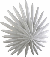 Corbett 310-11 Savvy Modern Gesso White Wall Mounted Lamp